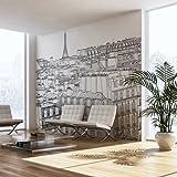 murando – Papier peint intissé - Papier peint - Trompe l oeil - Tableaux muraux XXL - 450x270 cm - Paris 10060904-35