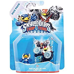 Skylanders Trap Team – Duo Pack – Full Blast Jet-Vac & Pet Vac