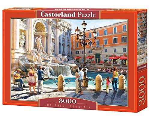 CASTORLAND The Trevi Fountain 3000 pcs 3000pieza(s) - Rompecabezas (Jigsaw Puzzle, Ciudad, Niños y Adultos, Niño/Niña, 9 Año(s), Interior)
