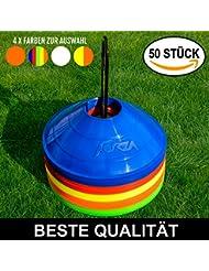 Markierungsteller, 50 Stück, mit Ständer, beste Qualität [Net World Sports]