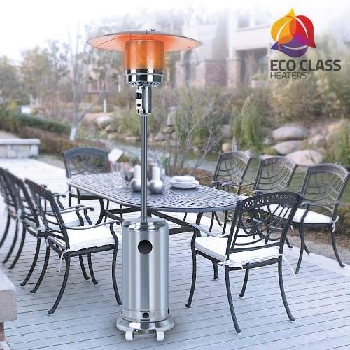 Thermic Dynamics Eco Class Heaters GH Estufa Gas Exterior