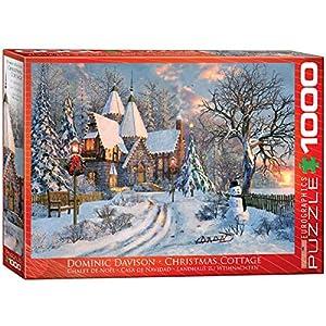 Eurographics 6000-0790 - Puzzle (1000 Piezas), diseño de casa de Navidad