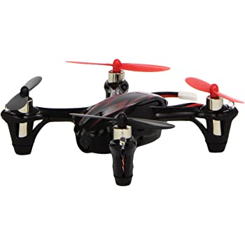 Hubsan X4 H107C 2.4G 4CH RC Quadcopter With 0.3 MP Camera RTF - Black/Red