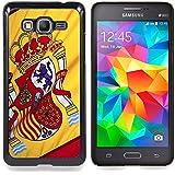 Graphic4You España bandera española Carcasa Funda Rigida para Samsung Galaxy Grand Prime