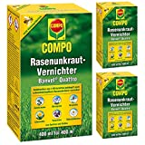 GARDOPIA Sparpaket: 3 x 400ml COMPO Rasenunkraut-Vernichter Banvel Quattro Rasen