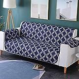 Zwei Sitzer - Wasserdicht Gesteppte Sofabezüge - Sessel Möbelschutz Für Hunde Haustiere Kinder Sofabezug,B