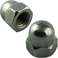 1 piece cap nut M3 to M24 high form DIN 1587 stainless steel A2