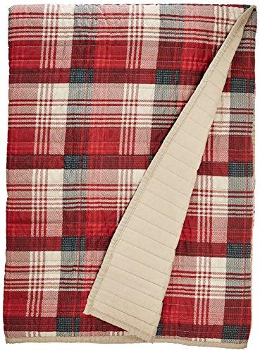 Woolrich, Inc. WR50-1781Tasha Gesteppte Tagesdecke 127x 177,8cm rot, 127x 177,8cm Woolrich Throw
