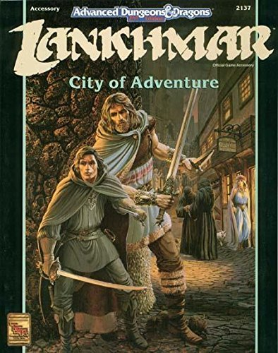 Lankhmar City of Adventure (Advanced Dungeons & Dragons, 2nd Edition : Official Game Accessory) by Anthony Pryor (1993-11-01)