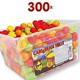 Fizzy Candybox Caribbean Fruit Mix BBG 300 Stck. Box (Kaugummi in tropische-Früchte-Form)