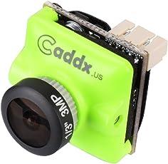 "Caddx FPV Camera Turbo Micro F2 1200TVL 2.1mm Cam 1/3"" CMOS 16:9 NTSC Pal Switchable 2.1mm IR Blocked Green for FPV Racing Drone"