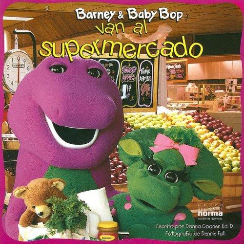 Barney & Baby Bop Van Al Supermercado