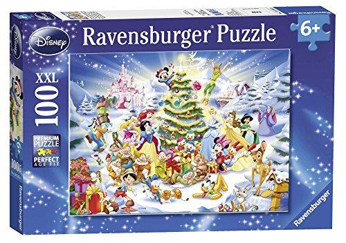 Ravensburger – 10545 – Puzzle – Le Noël Disney – 100 Pièces
