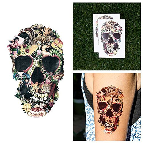 tattify-decoupage-skull-temporary-tattoo-bonafide-lovin-set-of-2