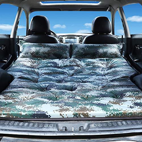 Mobile Camo (CONRAL Auto Luftmatratze, SUV Reise Aufblasbare Matratze Luftbett Gewidmet, Ultra Große Doppel Mobile Kissen, Erweiterte Outdoor Camping Zelt, Twin Size Luftmatratze,Camo)