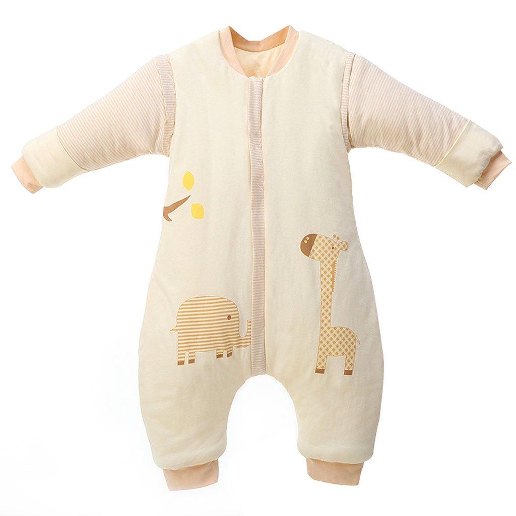 Bolsa de Dormir de Bebé de Mangas Largas,Invierno Sacos de Dormir para Bebé Niños Niñas 3.5 Tog L