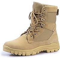 Bottes de Randonnée Hommes Tactiques Militaires de Combat Bottes Chaussures de Trekking extérieures Respirantes…
