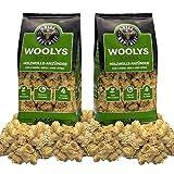 Grill Republic Hochwertige Grillanzünder mit langer Brenndauer Anzünder aus ökologischer Holzwolle und Wachs für Grill, Kamin und Ofen | 5 kg