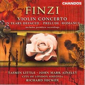 Finzi: Songs / Prelude / Romance / Violin Concerto