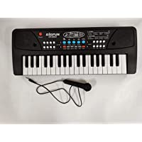 GREATZON 37 Key Piano Keyboard Toy with dc Power Option, Recording and mic for Kids,Plastic - 2019 Latest Model - Black…