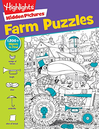 Highlights Hidden Pictures(r) Favorite Farm Puzzles (Favorite Hidden Pictures#174;)