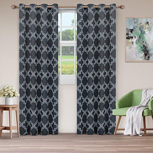 superior-boh-tre-nb Vorhang Panel Paar, marineblau, 52