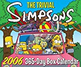 The Trivial Simpsons 2006 365-Day Box Calendar