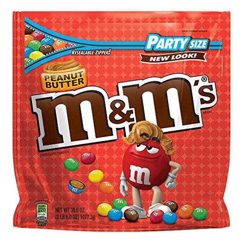 M&M\'s Peanut Butter - Erdnussbutter - Riesenpackung 1077g 38 oz Bag USA
