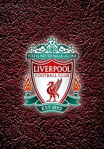 Liverpool FC Plaketten-Logo You'll Never Walk Alone Aufdruck Fußball Plakat 10542 (A3-a4-a5) - A3 (Plakat Home Alone)