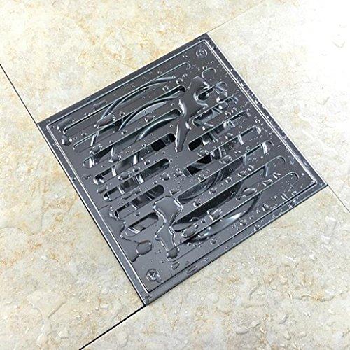 Daeou Edelstahl Dusche Zimmer anti-stinken Bodenablauf Bad Balkon ultra-Erde Leck