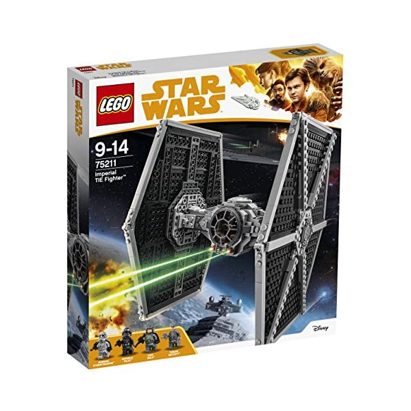 LEGO- Star Wars TMImperial Tie Fighter, Multicolore, 75211 1 spesavip