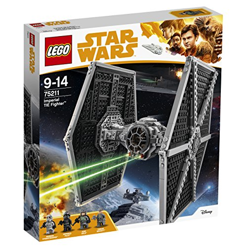 LEGO Star Wars - Le TIE Fighter impérial - 75211 - Jeu de Construction