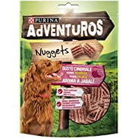 Purina Adventuros Nuggets Snacks para Perro - Pack de 6 x 90 g - Total 540 g
