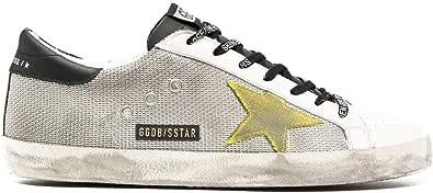Golden Goose Luxury Fashion Uomo GMF00101F00034580305 Argento Pelle Sneakers | Stagione Permanente