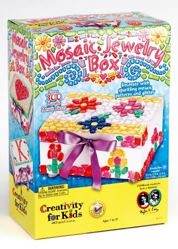 Creativity for Kids Mosaic Jewelry Box by Creativity for Kids