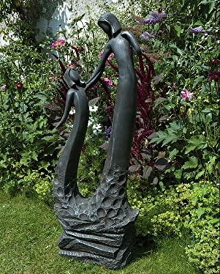 Large Contemporary Art Sculptures - Loving Mother Modern Garden Statue