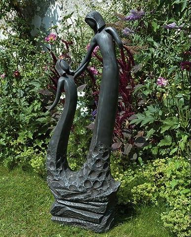Large Contemporary Art Sculptures - Loving Mother Modern Garden Statue