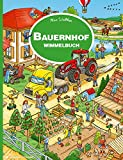 Bauernhof Wimmelbuch: Kinderbücher ab 3 Jahre (Bilderbuch ab 2-4)