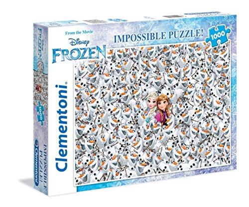 Clementoni - 393602 - Puzzle - Reine des Neiges - 1000 Pièces