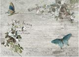 Reispapier A4 - Boheme. Motiv-Strohseide, Strohseidenpapier, Decoupage Papier