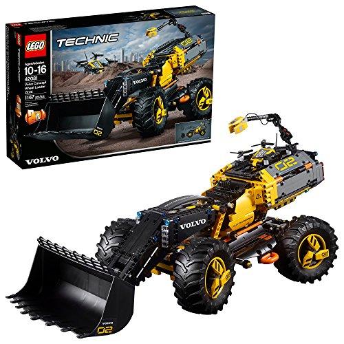 Lego Technic 42081 - Volvo Ruspa gommata ZEUX (1167 pezzi)
