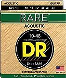 DR Strings RARE 10-48 Jeu de Cordes pour Guitare Acoustique