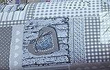 STOFFA tessuto tovaglia-cuscino-tende altezza cm 140 country shabby N