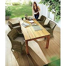 2017 Gartentisch Holz Rustikal