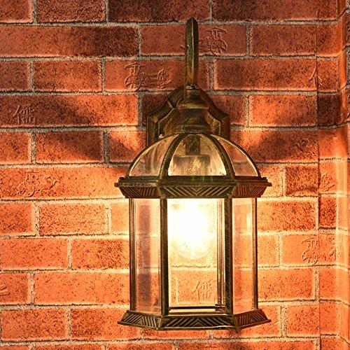 Wand Lampe Moderne Wand Licht Balkon Wand Licht Leuchten Wandleuchte Leuchter Durchmesser 21Cm E27 Wandleuchte Outdoor -