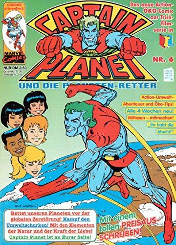 *Verlagsvergriffen* CAPTAIN PLANET und die Planeten-Retter Comic Magazin # 6: Die Ratten-Falle! (Aus Turtles Ninja Ratte)