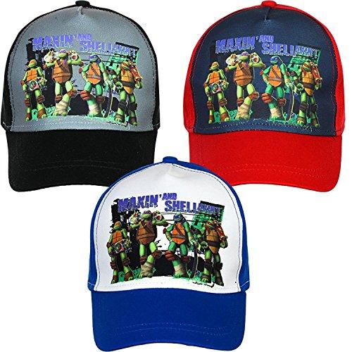 ütze Teenage Mutant Ninja Turtles Basecap TMNT Kindermütze Schirmmütze (Tmnt-baseball-cap)