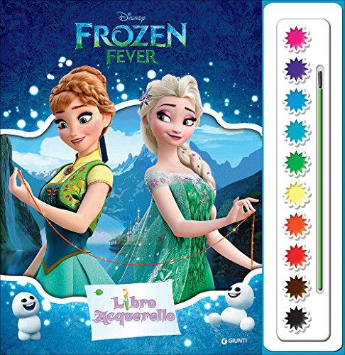 Frozen fever. libro acquerello. con gadget