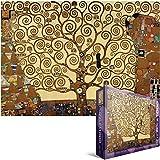 Puzzle 1000 pezzi 19,25 'X26.5'-Klimt - albero della vita