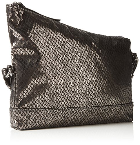 Tamaris - STEFY Clutch Bag, Pochette Donna Argento (Silber (pewter 915))